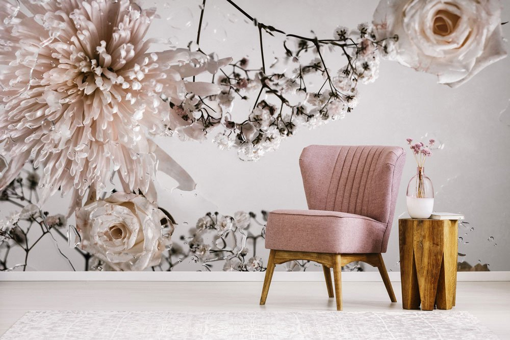 Floral wallpaper murals that make a statement FEATHR