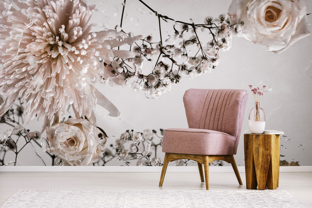 Albus iii wall mural by claire luxton for feathr