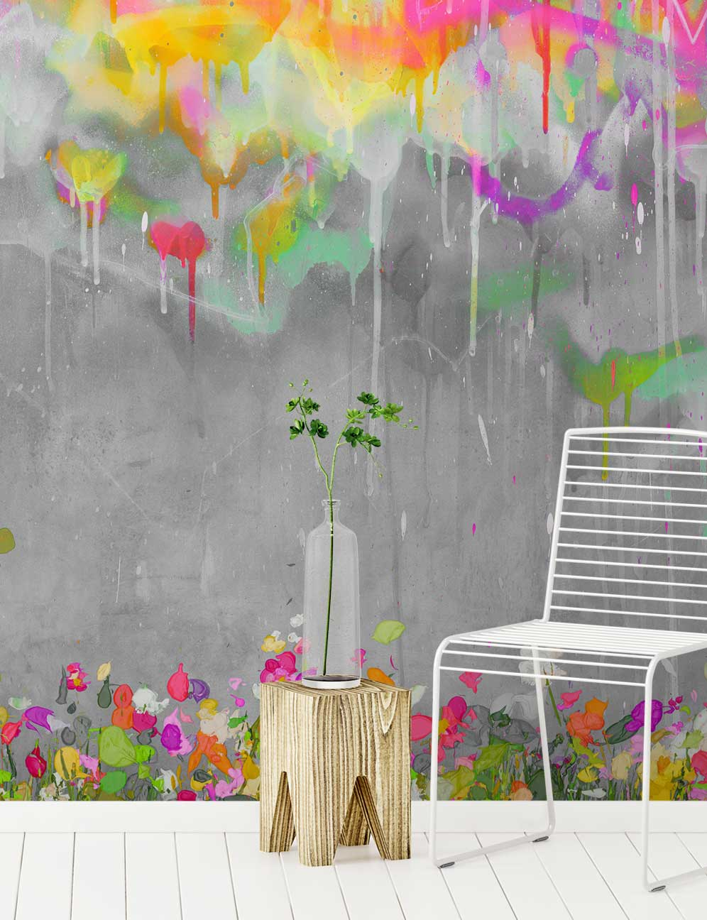 Graffiti Wallpaper And Wall Murals Are A Great Way To Freshen Up Your Home Give Living Room Or Bedroom An Urban Edge The Street Art Trend Is High