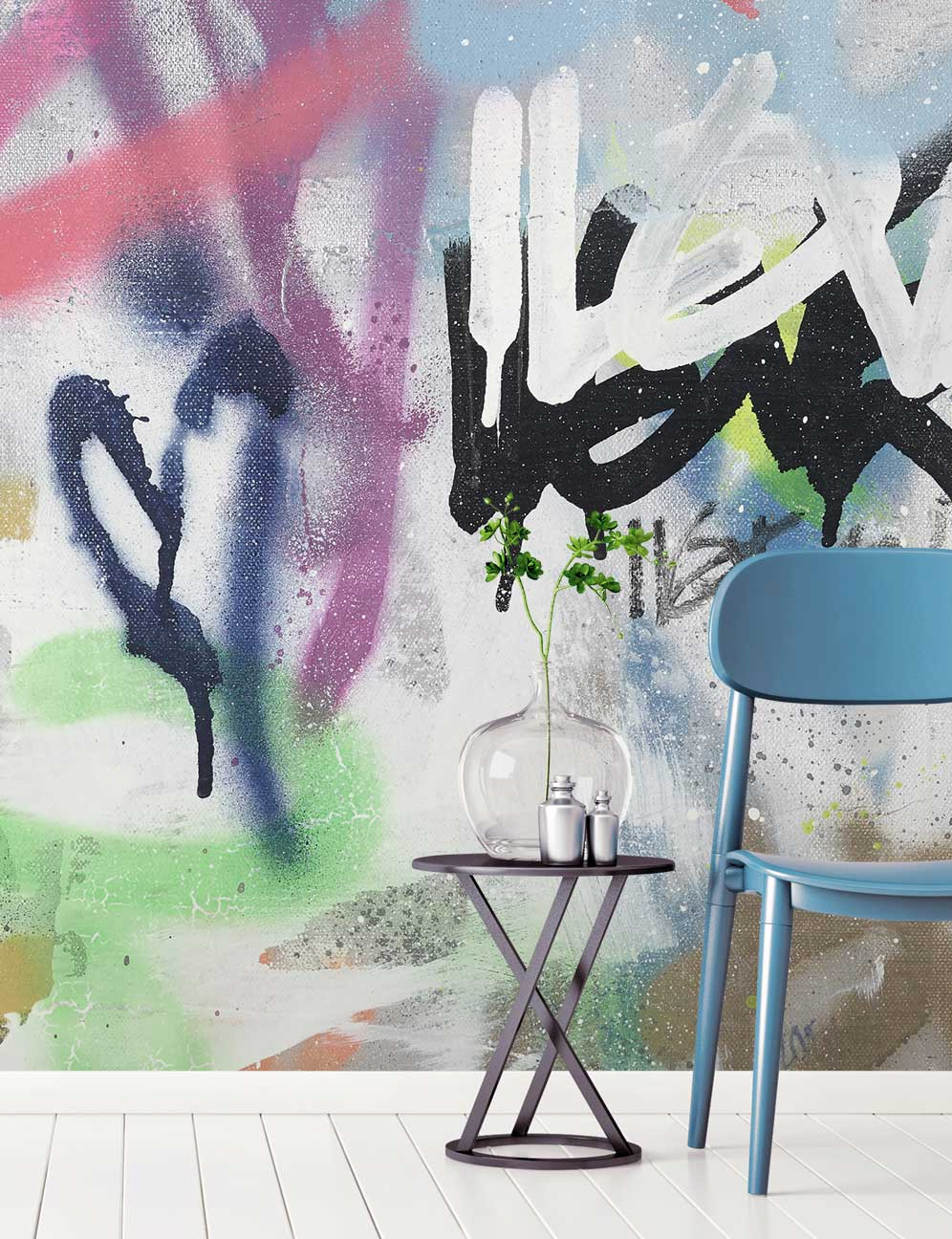 Graffiti Wallpaper To Give Your Home An Urban Edge Feathr