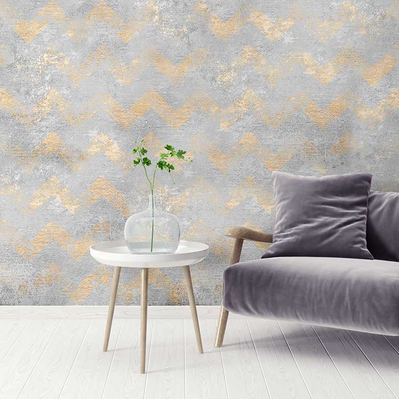 Distressed Wallpapers To Give Your Home A Shabby Chic Charm