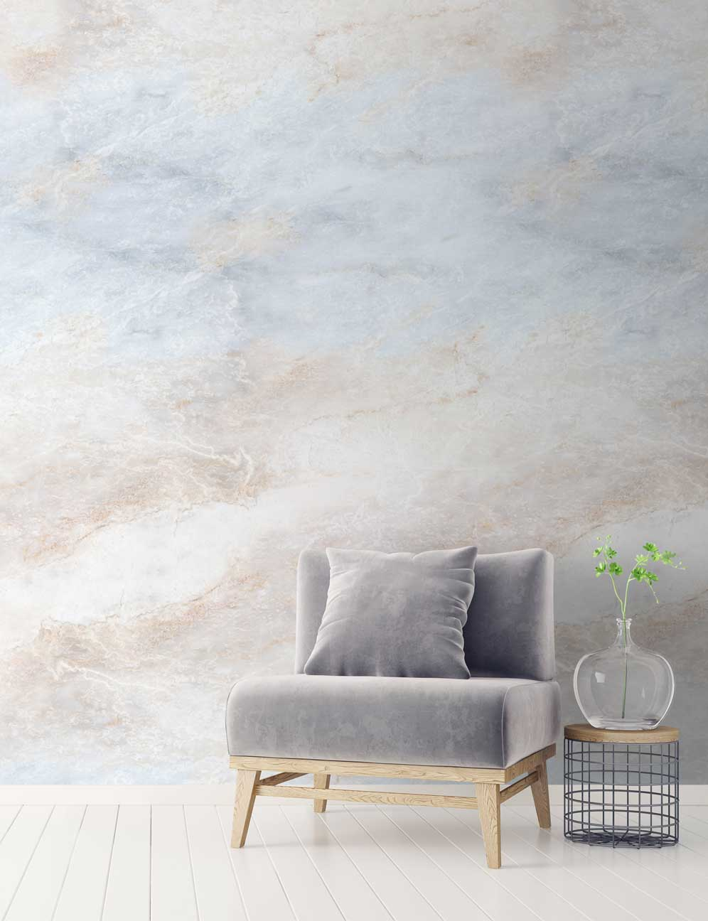 Stone & marble wallpapers   Get the luxe look