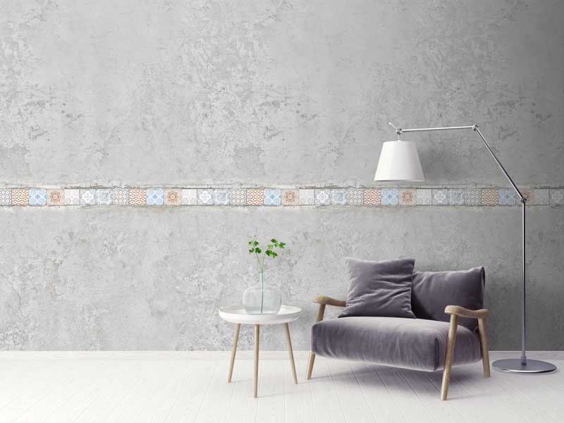 Tiled Wallpaper Realistic Designs For Authentic Surface