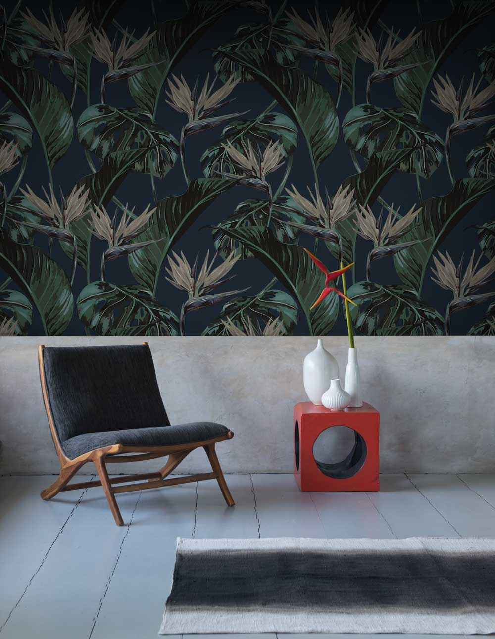 Tropical Leaf Wallpaper By Wow