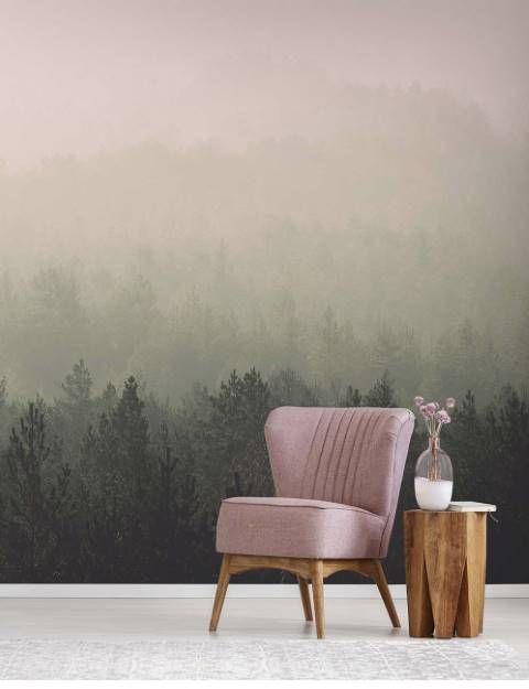 53bb65dc2315 Vintage Forest wall mural