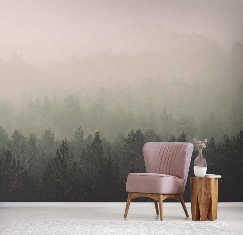 Vintage Forest Wall Mural