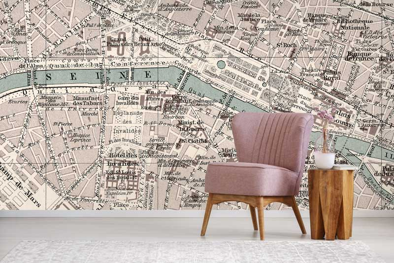 Vintage wallpaper for urban living | FEATHR™