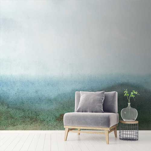 Abstract wallpapers for a dreamy bedroom