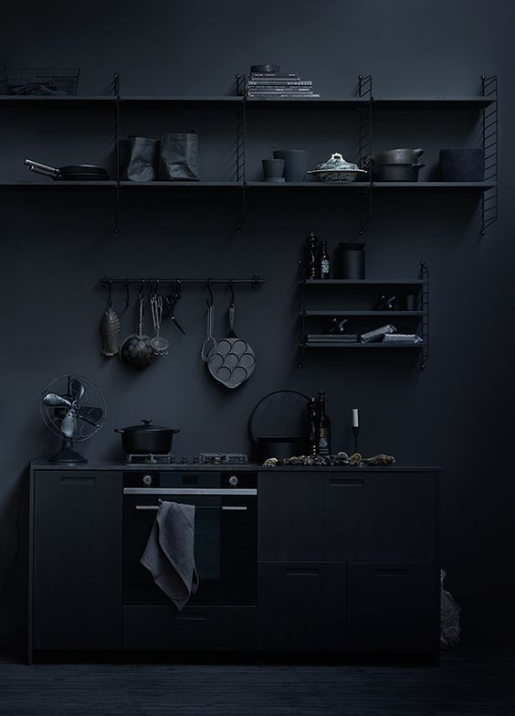 7 black interiors that embrace the dark side | FEATHR™