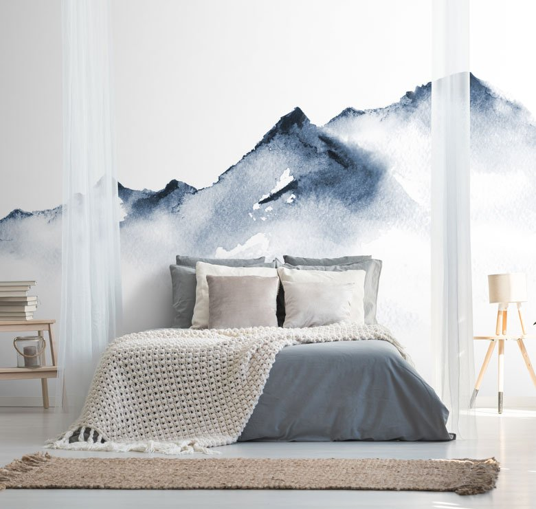 Watercolor Wallpapers For A Dreamy Bedroom 20 Original Ideas Irresistible Designer Wallpaper Modern Luxury Wall Murals Feathr