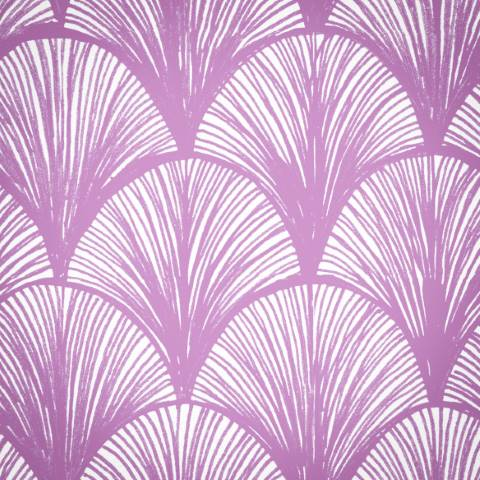 Orchid Scales Wallpaper In Deep Pink Detail