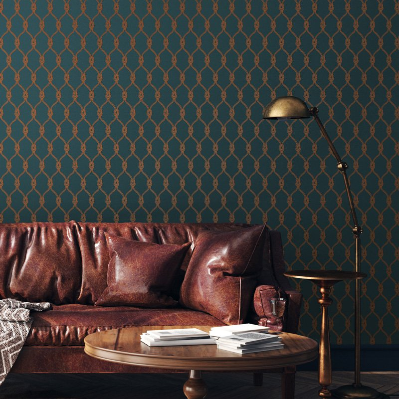 Living Rooms with wallpaper more How to Style Them FEATHR